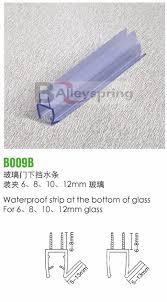 glass shower door seals and sweeps finest glass shower door seals
