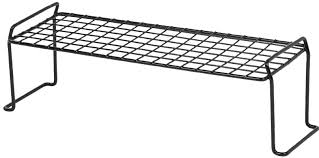 Stackable Wire Shelves by Iris Medium Long Stacking Helper Shelf U0026 Reviews Wayfair