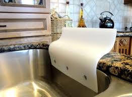 Kitchen Sinks With Backsplash Kitchen Sinks With Backsplash Sink Splash Guard Plastic In Decor