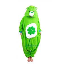 luck bear onesie care bears kigurumi pajama for adults
