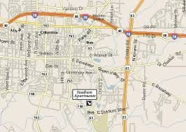 columbia missouri map stadium apartments columbia mo map