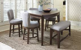 Pub Dining Room Tables Mardinny Pub Table 4 Stools U0026 Bench