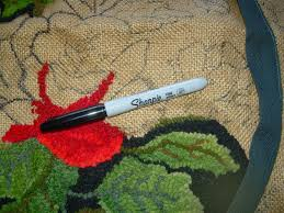 Thrift Rugs Ancient Cloth Punch Needle Rug Hooking
