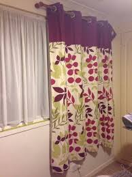 Leaf Design Curtains Dunelm Jakarta Plum Lined Eyelet Curtains Leaf Pattern Purple