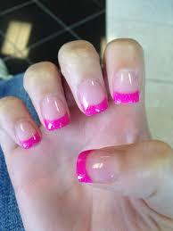 imagenes graciosas de uñas hot hot hot pink solar nails lovely nails pinterest arte de