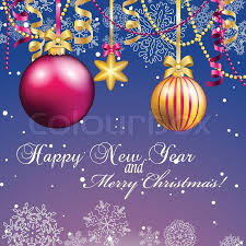 new year postcard greetings new year greeting card christmas with bow and ribbon