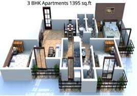 1440 sq ft 3 bhk 3t apartment for sale in space india balaji