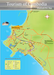Travel Maps Sihanoukville Map Cambodia Travel Maps Plan Your Trip To