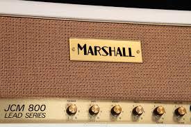 Custom Head Cabinet Marshall Custom Shop Jcm800 Head And 1960av Cabinet Cream