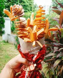 food bouquets 13 craaaazy instagrammers using food bouquets to say i you