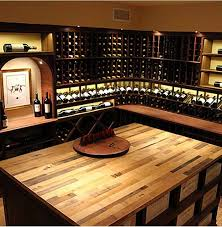 in floor wine cellar vintage wine barrel tabletop wine cellar cincinnati by wine