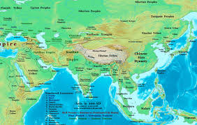 India Geography Map by Asia 200 Ad Jpg