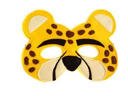 lion mask for kids children s cheetah felt animal mask