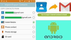 how to import contacts from gmail to android how to import export contacts number to gmail save android