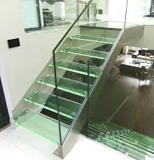 Stairs Standard Size by This Is A Staircase Concept With Glass Treads And Risers Satin Led