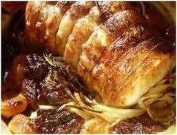 cuisiner roti de porc recette rôti de porc aux abricots 750g