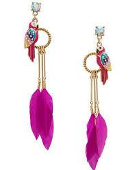 artificial earrings artificial earrings fancy feather fashion earrings buy