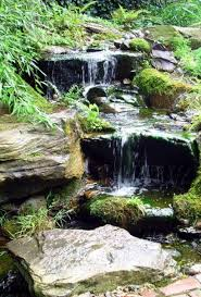 Waterfall In Backyard Best 25 Backyard Waterfalls Ideas On Pinterest Garden Waterfall