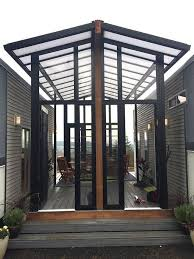 Sunroom Tiny Houses And Open Air Sunroom Combine Into One Family Home Curbed