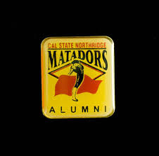 alumni pin calisphere cal state northridge matadors alumni pin undated