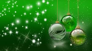 background happy holidays decorative ornaments green