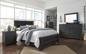 Ashley Furniture Distribution Center Houston Tx Brinxton Black Poster Bedroom Set From Ashley Coleman Furniture