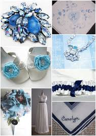 something blue wedding something blue wedding inspiration with navy white garter