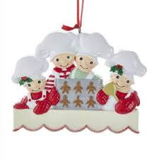 gingerbread chef hat ornament for personalization kurt s adler