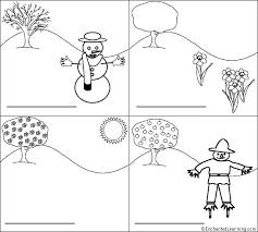 label the seasons in english printout enchantedlearning com