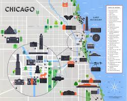 Hyde Park Chicago Map by Chronicle Books Map