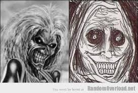 Shadowlurker Meme - eddie iron maiden s mascot totally looks like shadowlurker
