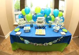 green baby shower decorations green and blue decorations appealing baby shower blue and green