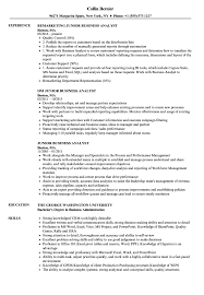 sle resume for business analyst role in sdlc phases system junior business analyst resume sles velvet jobs