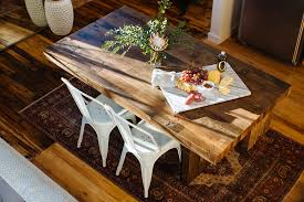 A Nashville Loft With A Sense Of History Front Main - West elm emmerson reclaimed wood dining table