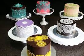 Cake Decorating Singapore All About Ganache Featuring Edible Lace Cake Decorating