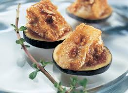 canapes fruit brie canapés with pecans on fruit recipe dairy goodness