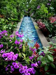 home design ideas beautiful small pond design with flowers around