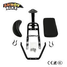 siege electrique harley électrique scooter modifié accessoires arrière siège avec