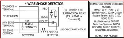 home run 4 wire smoke detectors and nx 8 doityourself