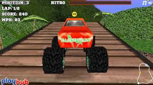 monster truck racing 3d monster race 3d playhub youtube