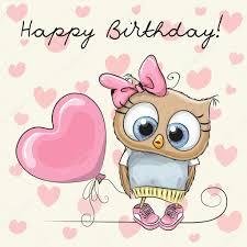 cute cartoon owl u2014 stock vector reginast777 104690826