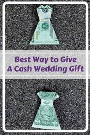 what to give as a wedding gift best wedding gift money origami dress fave