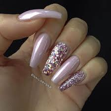 baby pink pink holographic glitter pink glitter long coffin