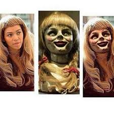 Funny Beyonce Meme - â d on twitter â fatale yall will not call beyoncã annabelle