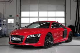 Audi R8 Red - iron man u0027s audi r8 e tron gets less fictional to be offered on