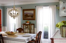 Window Treatments Dining Room Choosing The Right Color Window Treatments