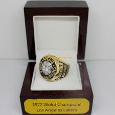 1972 los angeles lakers basketball world championship ring
