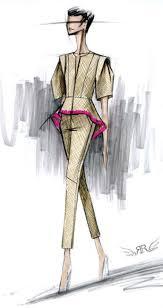 rachel roy sketch fashion illustration pinterest rachel roy