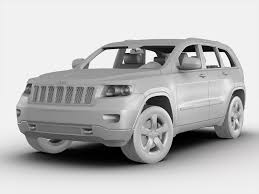 jeep cherokee black 2012 jeep grand cherokee 2012 3d model cgtrader