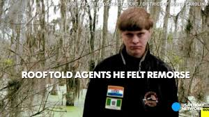 dylann roof dylann roof laughs in video confession of church shooting youtube